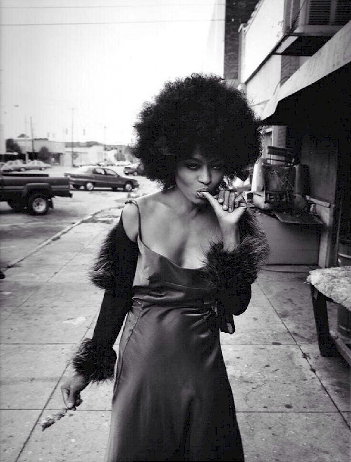 Diana Ross style icon b&w fashion photography timeless Vogue inspo textures body timeless moss bruce weber lindbergh newton avedon demarchelier meisel doisneau Alaia Chanel YSL vintage