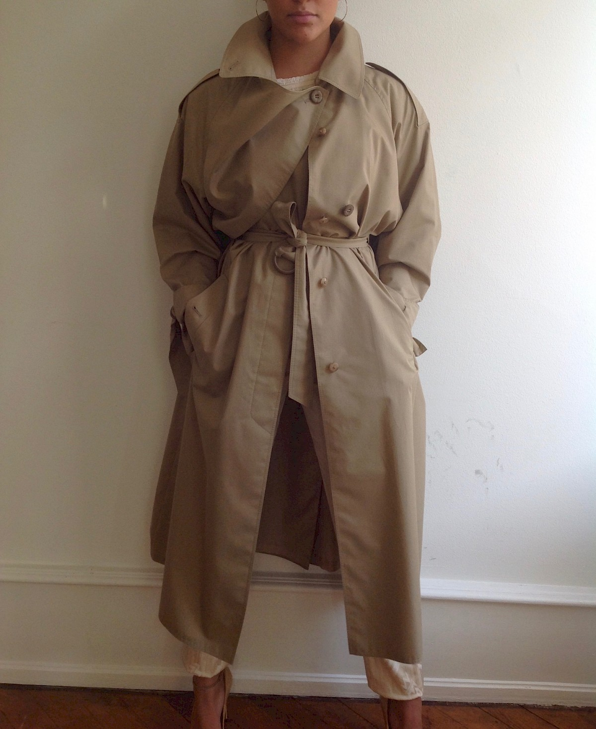 vintage trench coat british chic Kate celine burberry