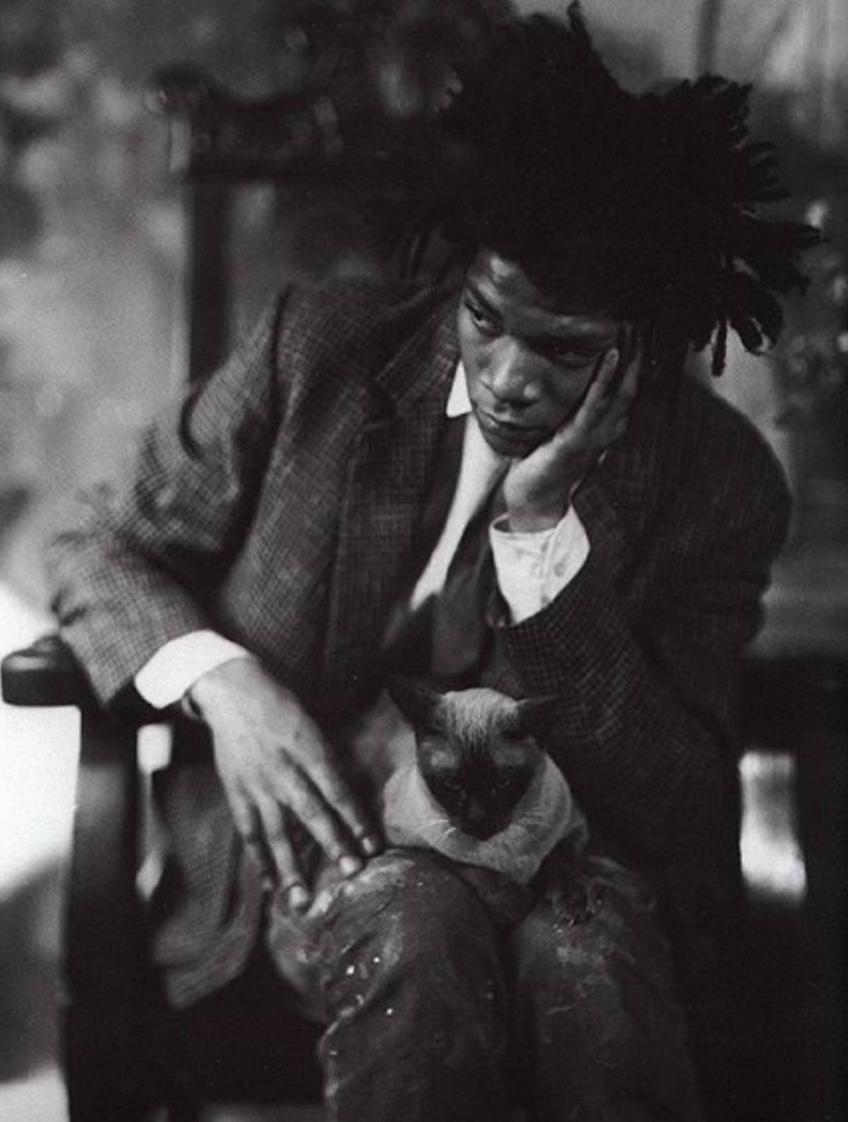 Jean-Michel Basquiat Vogue Kate Moss b&w fashion photography timeless inspo timeless lindbergh newton avedon demarchelier meisel Alaia Chanel
