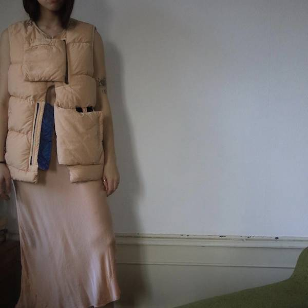 Nude Stone Island Shadow Project 10th anniversary Boho Centenera Off Vintage Silk Blogger Vogue