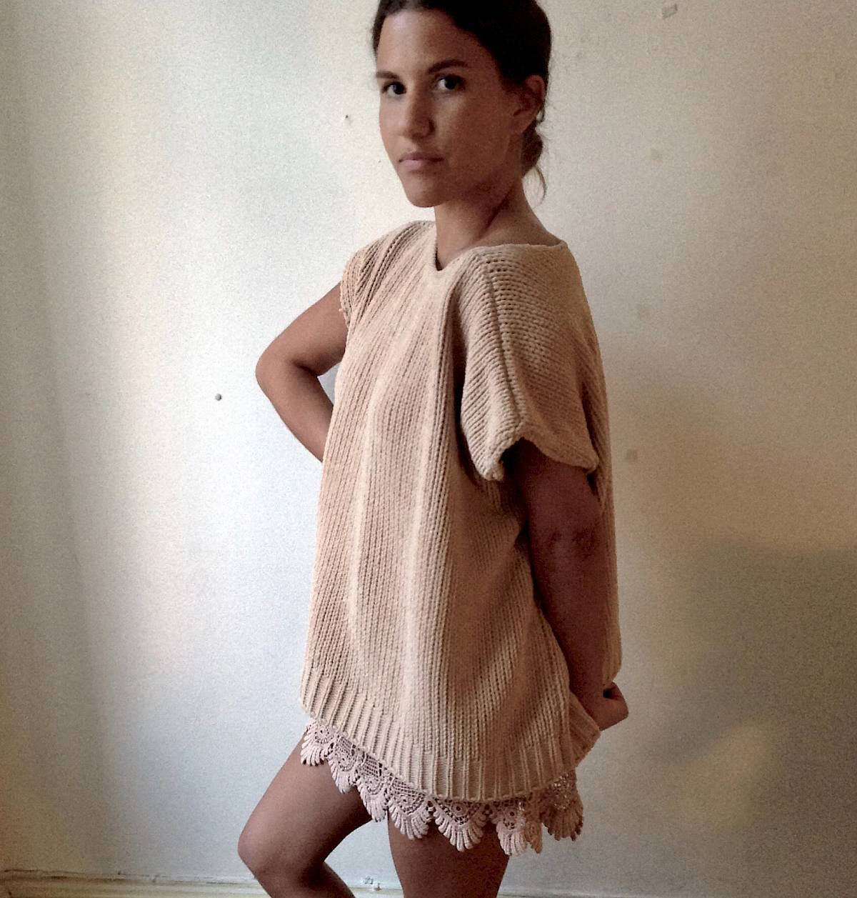 Eve Nude all peachy italy knit missoni vintage boho bohemian modern hippie yeezy