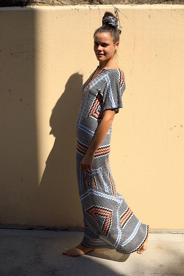 Missoni Mare dress boho boheme berlin gal